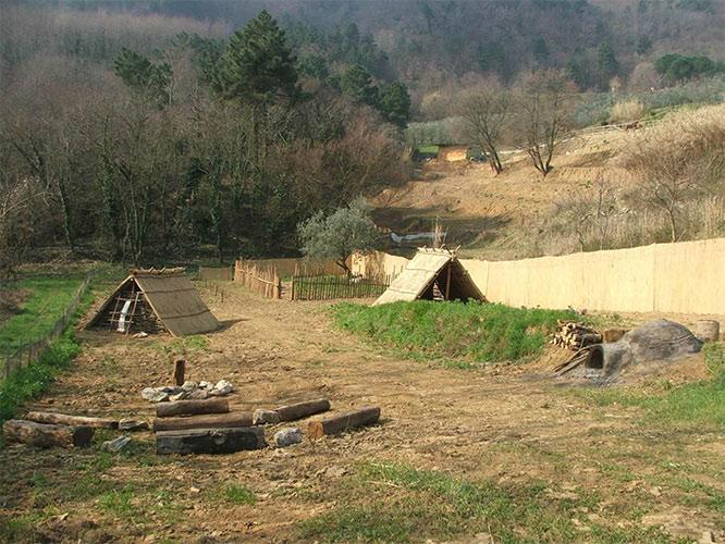 Fattoria preistorica baugiano for Vecchie planimetrie della fattoria